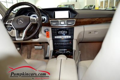 2014 MERCEDES BENZ E350 4MATIC