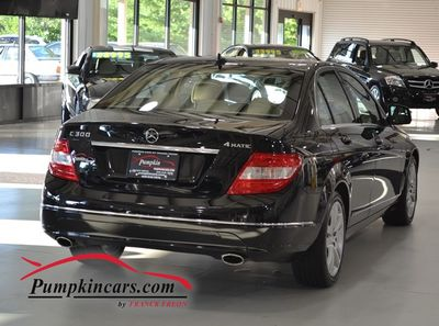 2008 MERCEDES BENZ C300 4MATIC LUXURY PANO ROOF