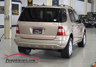 2005 MERCEDES-BENZ ML500 4MATIC MOON ROOF