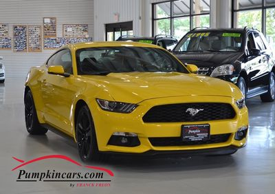 2016 FORD MUSTANG ECOBOOST PREMIUM 6SP