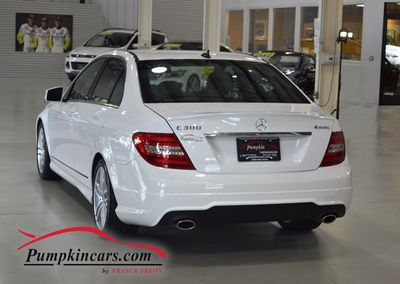 2013 MERCEDES BENZ C300 SPORT 4MATIC NAVIGATION