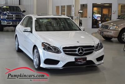 2014 MERCEDES BENZ E350 4MATIC SPORT AMG