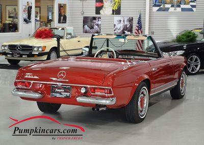 1966 MERCEDES BENZ 230 SL 4 SPEED MANUAL