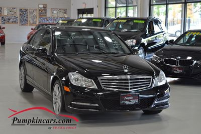 2012 MERCEDES BENZ C300 4MATIC LUXURY NAVI BACKUP