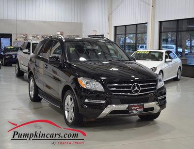 2014 MERCEDES BENZ ML350 4MATIC LANE TRACKING PKG