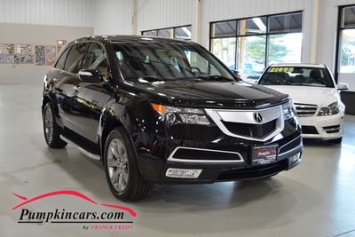 2012 ACURA MDX AWD TECH PKG BRAKE ASSIST