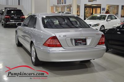 2004 MERCEDES BENZ S500 NAVI MOON ROOF BOSE