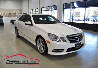 2013 MERCEDES-BENZ E350 4MATIC AMG NAV BACKUP CAM
