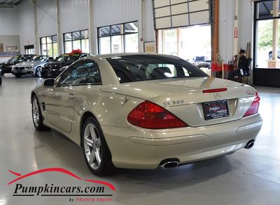 2003 MERCEDES BENZ SL500 DESIGNO LAUNCH EDITIONQ
