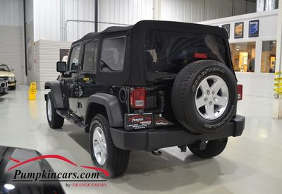 2014 JEEP WRANGLER 4X4 UNLIMITED SPORT