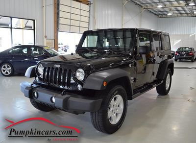 2016 JEEP WRANGLER 4X4 UNLIMITED SPORT S