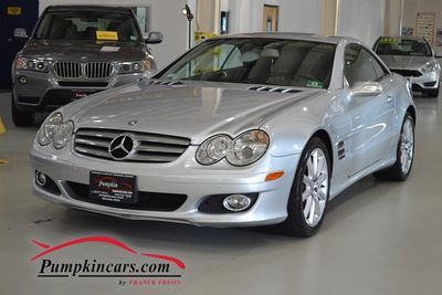 2008 MERCEDES BENZ SL550 NAVIGATION
