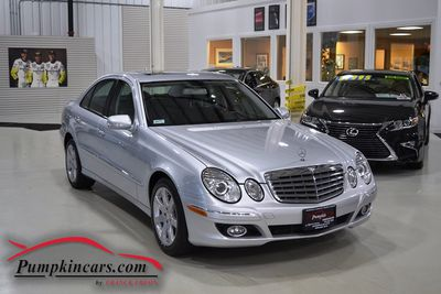 2008 MERCEDES BENZ E350 4MATIC NAVIGATION
