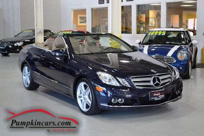 2011 MERCEDES BENZ E350 CABRIOLET AMG WHEELS