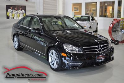 2014 MERCEDES BENZ C300 4MATIC SPORT NAV MOONROOF
