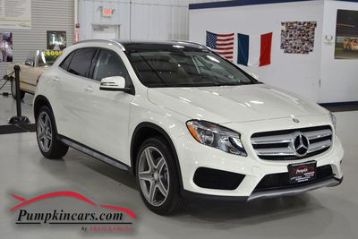 2015 MERCEDES BENZ GLA250 4MATIC BLIS + PANO ROOF