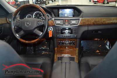 2011 MERCEDES BENZ E350 4MATIC NAV BACK UP CAM