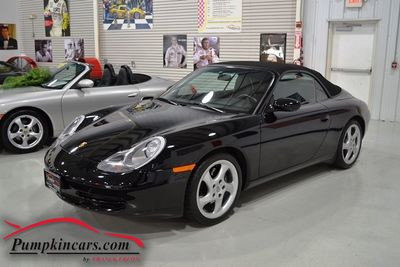 1999 PORSCHE 911 CARRERA CABRIOLET 6 SPEED