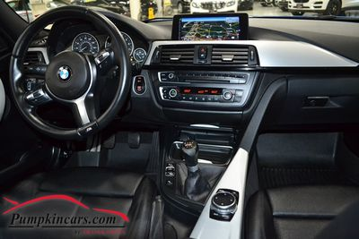 2014 BMW 335I M-SPORT 6 SPEED RWD NAV