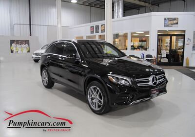 2018 MERCEDES BENZ GLC300 4MATIC AMG LINE PANO