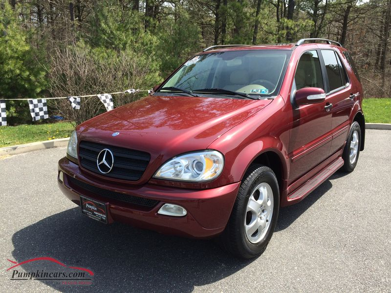 In new jersey nj stock no for Mercedes benz ml320 2002