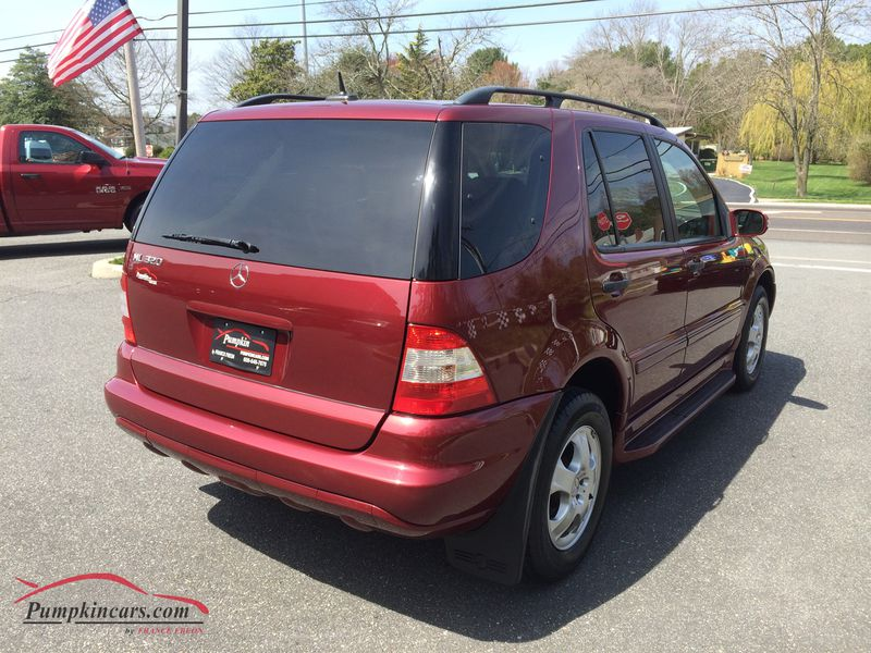 In new jersey nj stock no for Mercedes benz ml 320 2002