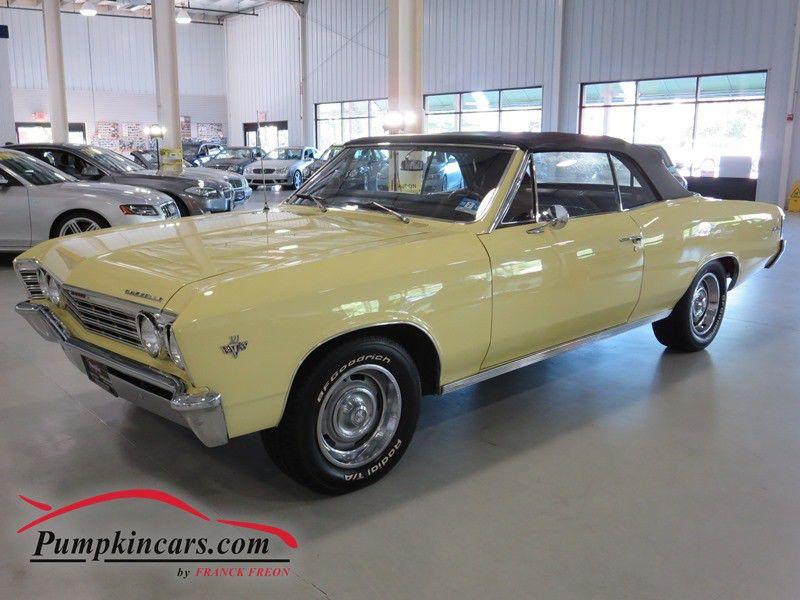 1967 Chevrolet Chevelle Malibu Convertible In New Jersey