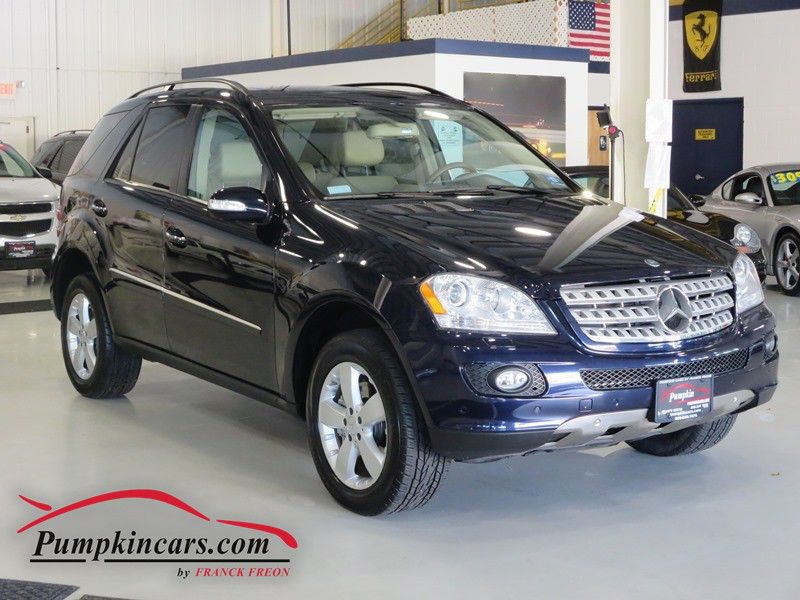 2007 mercedes benz ml500 4matic in new jersey nj stock no 3558. Black Bedroom Furniture Sets. Home Design Ideas