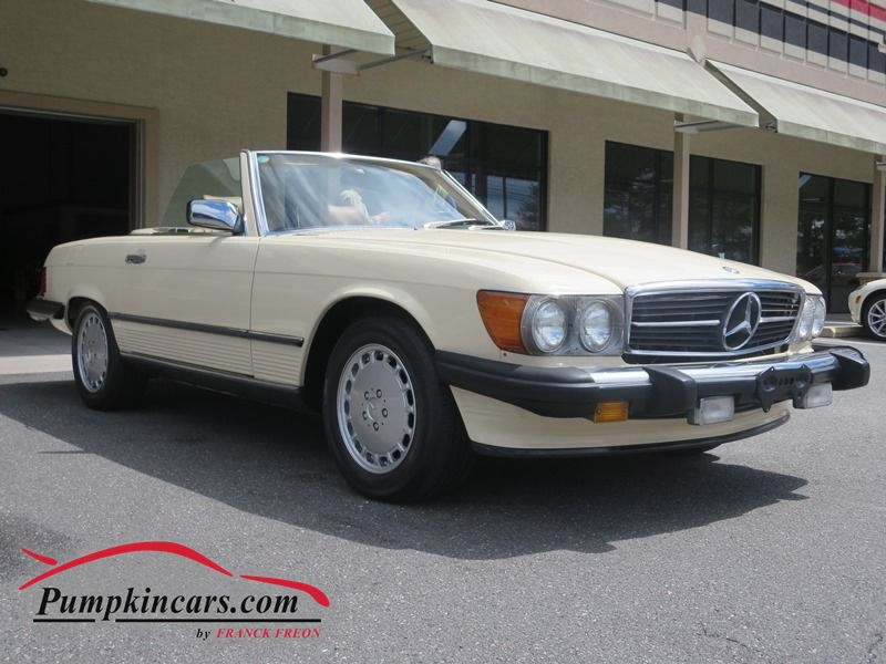 1987 mercedes benz 560 sl in new jersey nj stock no 3641 for Mercedes benz inspection cost