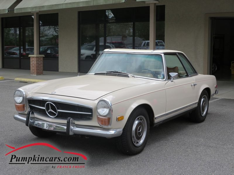 1970 mercedes benz 280 sl in new jersey nj stock no 3668 for Mercedes benz used nj