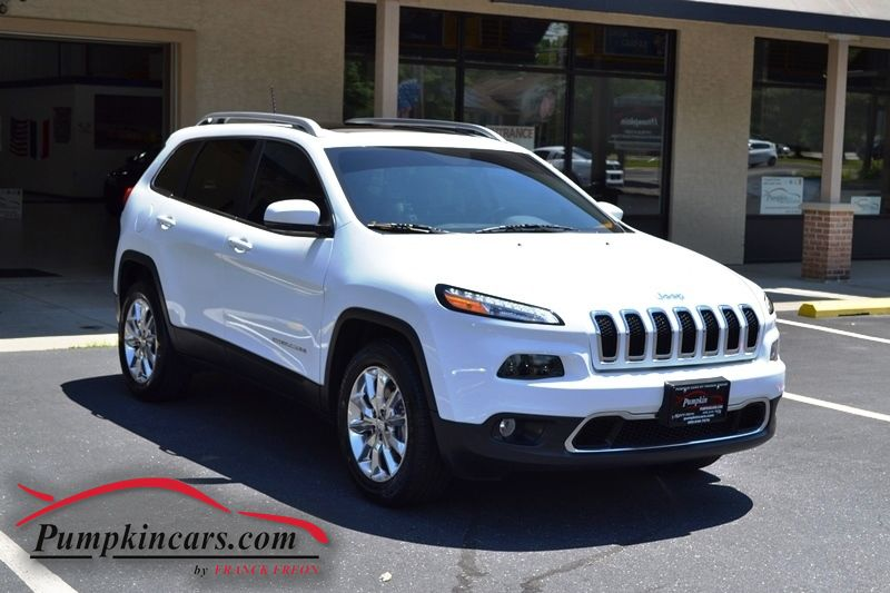 2016 Jeep Cherokee Limited 4x4 Pano Roof In New Jersey  Nj